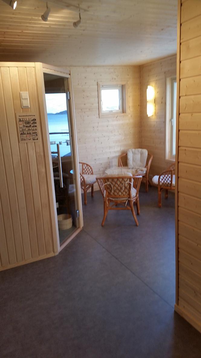 Saunabereich für Berfjorden 1 - 3