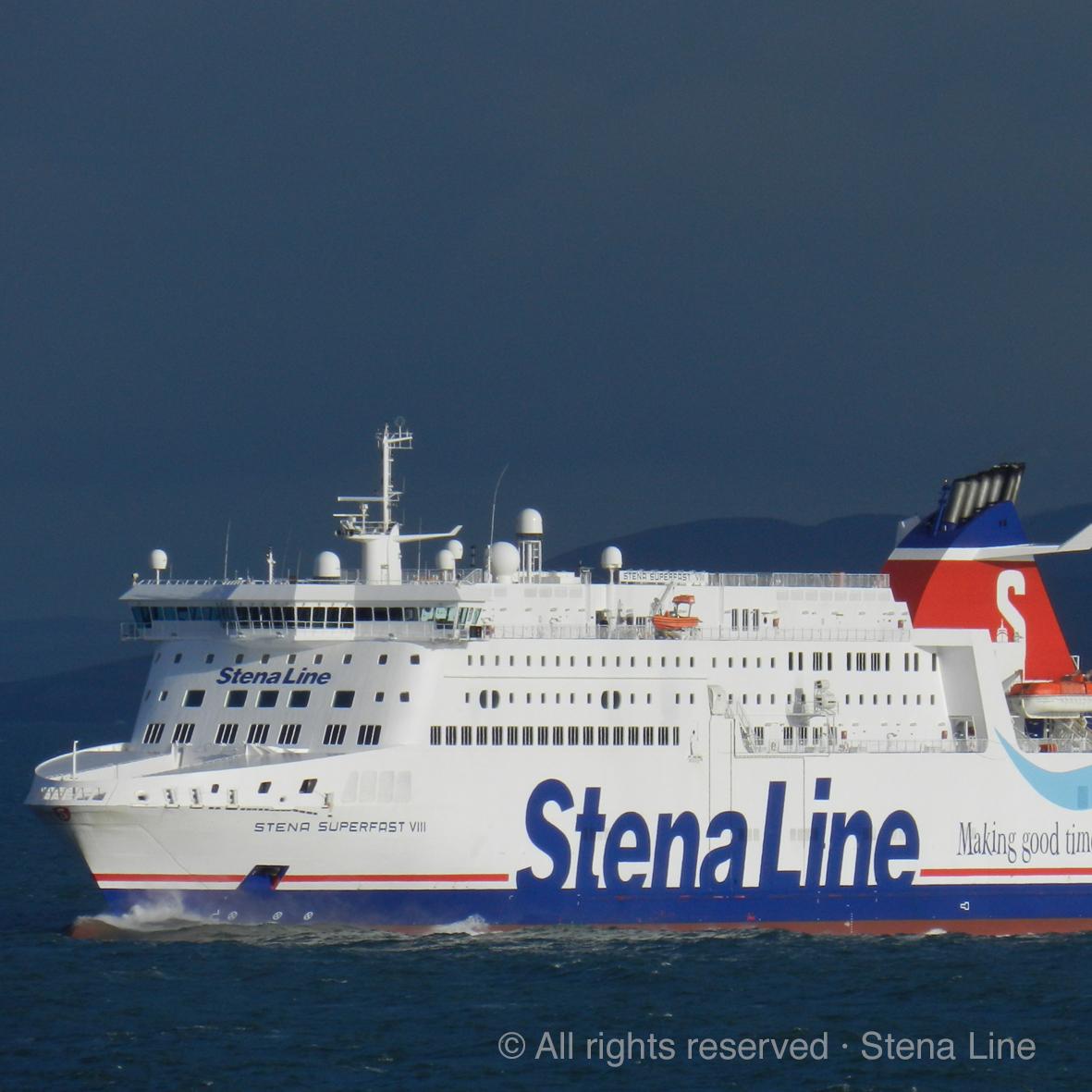 Überfahrt mit der Stena Line