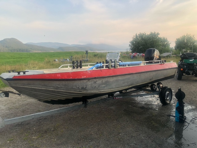 18FT/40PS Aluboot